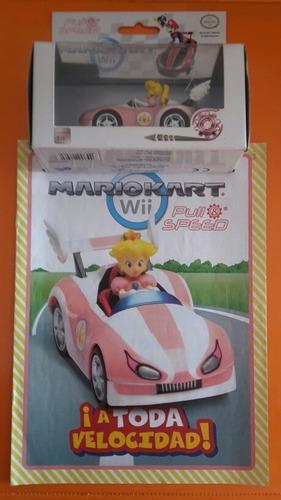 Coleccionable El Comercio Princesa Kart Nintendo