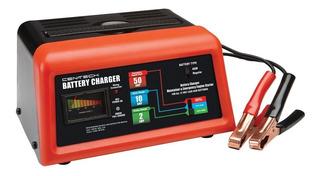 Cargador Baterias 12v 50a 10a 2a C/ Cables Arrancador