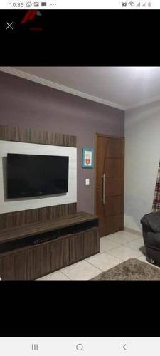 Imagem 1 de 5 de Casa Com 2 Dormitórios À Venda, 90 M² Por R$ 243.000,00 - Parque Senhor Do Bonfim - Taubaté/sp - Ca0341