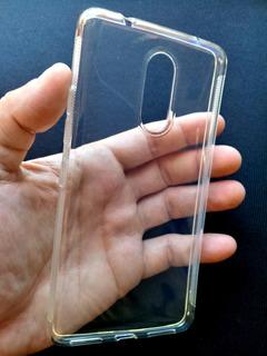 Capinha Lenovo Vibe K6 Plus 5.5 Flexível + Película Gel