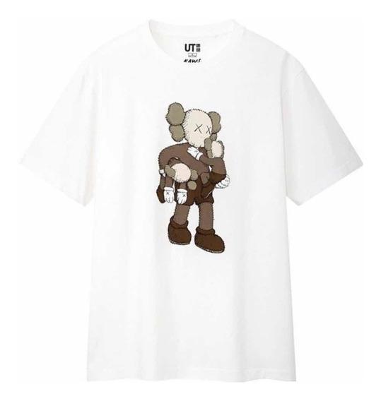 Playera Tshirt Kaws X Uniqlo Summer Collection 2019 Ori