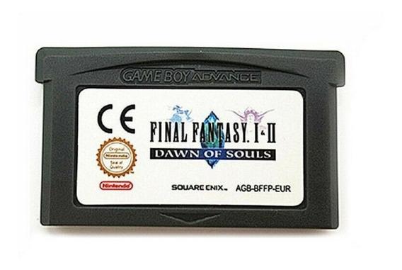 Final Fantasy I & Ii Dawn Of Souls Game Boy Advance Gba Nds