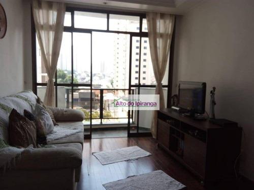 Apartamento À Venda, 109 M² Por R$ 700.000,00 - São Judas - São Paulo/sp - Ap1600