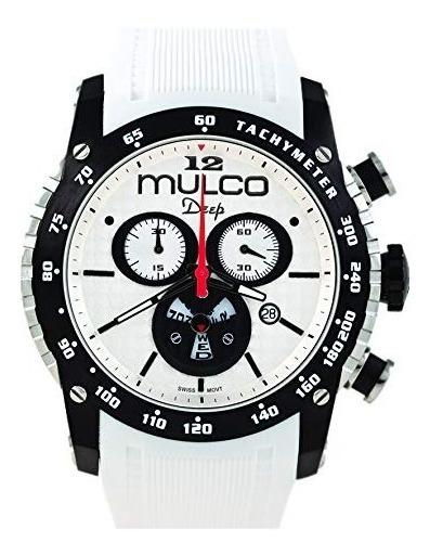 Relógio Mulco Deep Scale Isa White Mw1-29878-015