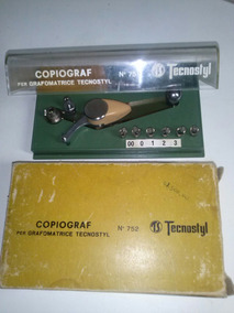 Reliquia Vintage Colecao Copiograf Grafomatice Tecnostyl 752