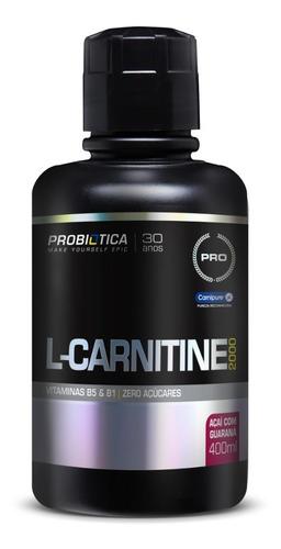 Imagem 1 de 3 de L-carnitina 2000 Queimador Gordura 400ml - Probiotica