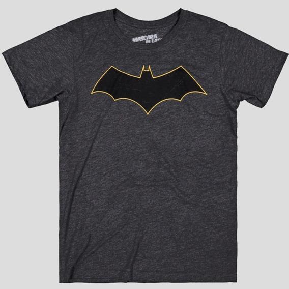 Batman Rebirth Logo Playera Máscara De Látex