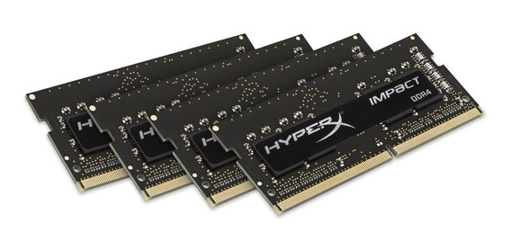 Memoria Ram 16gb (4x4gb) Ddr4 2400mhz Sodimm Hyperx