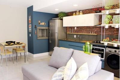 Apartamento Tipo Studio Com 1 Dormitório E 1 Vaga No Bairro Bom Fim - Ap4002