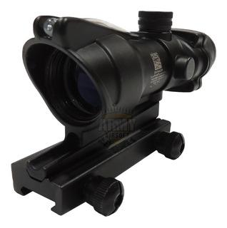 Acog 4x32 Trijicon Preto Mira Holográfica Airsoft