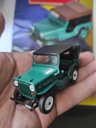 Jeep Willys Cj-3b Coleccion De El Tiempo Cafetero A Escala