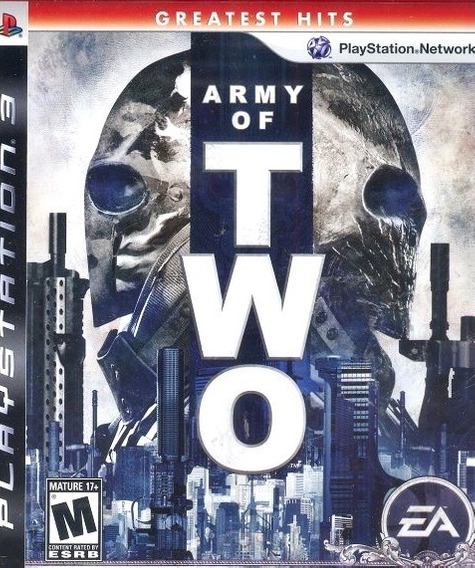 Jogo Army Of Two Playstation 3 Ps3 Mídia Física Guerra Fps