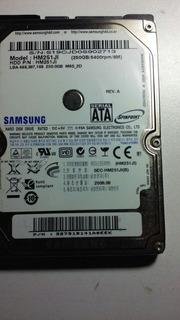 Placa Logica Samsung 250gb Hm251ji 2,5 Pulgadas