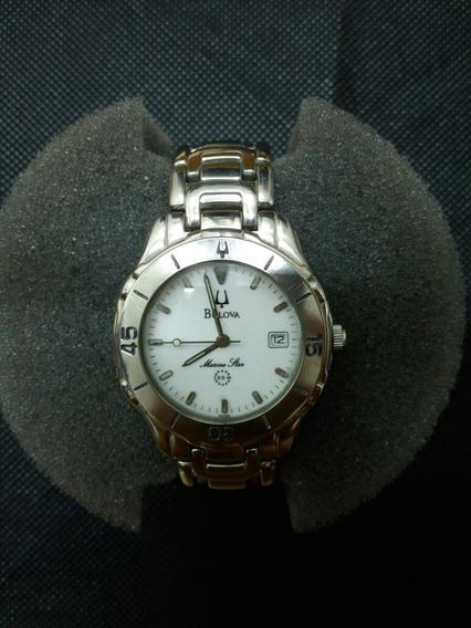 Relógio Bulova Marine Star Quartz Titânio(regulado E Polido)