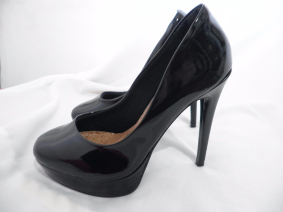 Zapatos Stilettos Via Marte Charol Taco Alto Hermosos