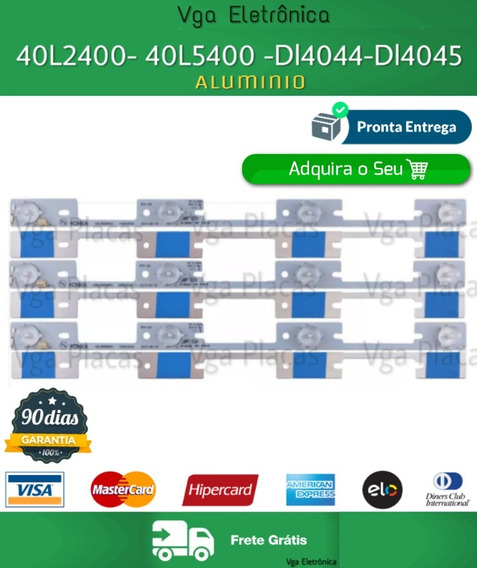 Barra Led Dl4044 40l5400 Dl3944 Dl4045 -