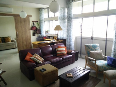 Aparecida Quadra Praia Andar Alto Vista Mar 2 Dorms 1 Suite