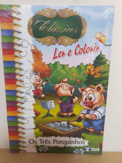 Coleção - Contos Clássico Para Ler E Colorir - 10 Volumes