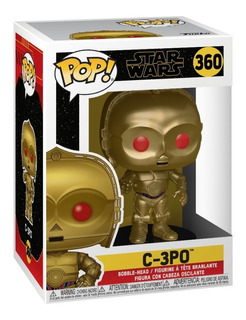 Funko Pop Star Wars Rise Of Skywalker C-3po Red Eyes 360