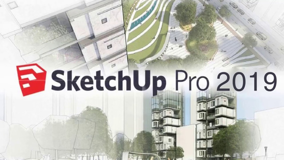 Sketchup 2019 Pro + V-ray 4.00.02 - Português