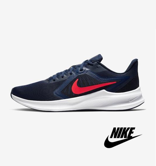 Tênis Masculino Nike Downshifter 10 Nike Azul Lançamento