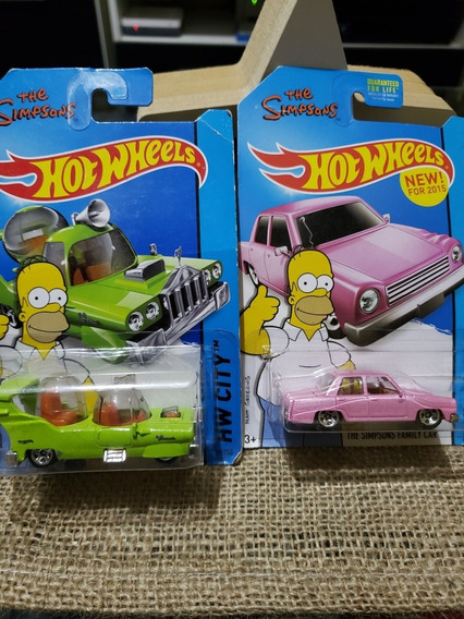 Hotwheels The Simpsons Originales