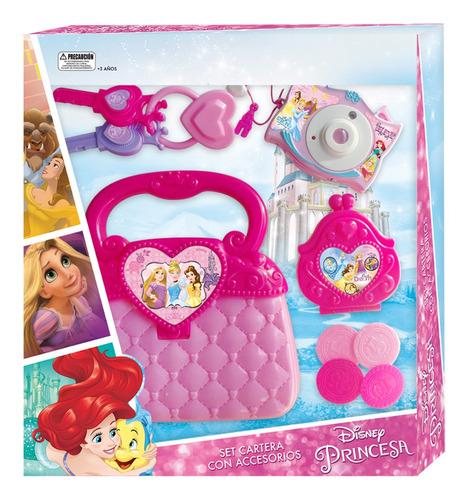 Set Cartera Con Accesorios Princesas Disney