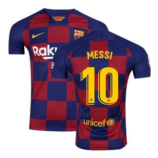 Camisa Do Barcelona 1 Home Messi 10 Original 2019 2020
