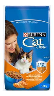Cat Chow Adultos Delimix 10kilos - kg a $14500