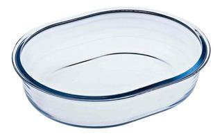 Molde Tartera Oval Vidrio O Cuisine 25x20cm 1,5l