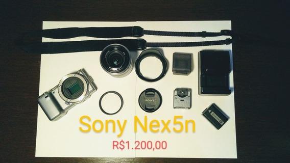 Câmera Profissional Sony Alpha Nex5n - (a Mais Barata Do Ml)