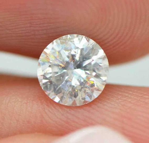 Diamante Natural 81 Pts Certificado Igl Cor E Si3 5.84 Mm !