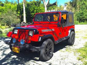 Se Vende Jeep Wrangler! Motor Diésel Qd-32 Con Turbo!