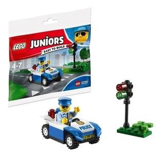 Lego Juniors 30339 Policia Con Vehiculo 34 Pzs + Cuento Nº 3