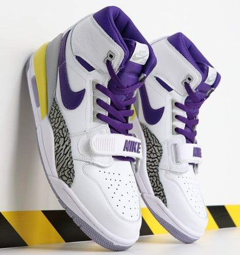 Zapatillas Nike Don C X Jordan Legacy 312 lakers