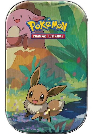Pokemon Mini Lata - Amigos De Kanto - Eevee