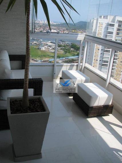 Apartamento À Venda, 92 M² Por R$ 950.000,00 - Ponta Da Praia - Santos/sp - Ap1102