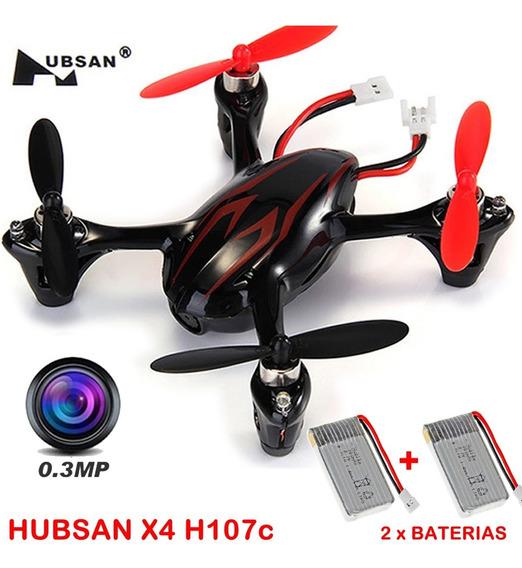 Drone Hubsan X4 H107c V2 Com Câmera + Brinde Frete Grátis
