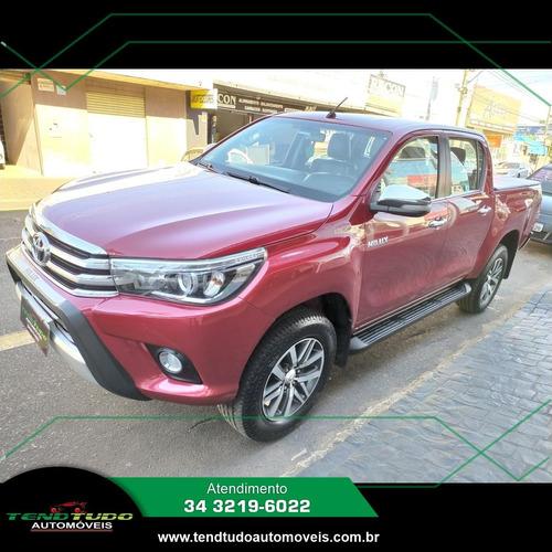 Imagem 1 de 8 de Toyota Hilux Srx 2.8 Vermelho 2016