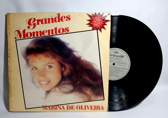 Lp Marina De Oliveira - Grandes Momentos