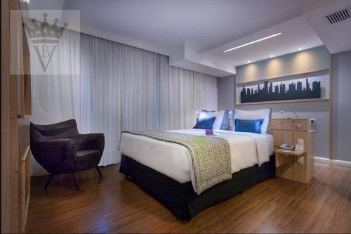 Flat Com 1 Dormitório Para Alugar, 30 M² Por R$ 2.600,00/mês - Pinheiros - São Paulo/sp - Fl0012