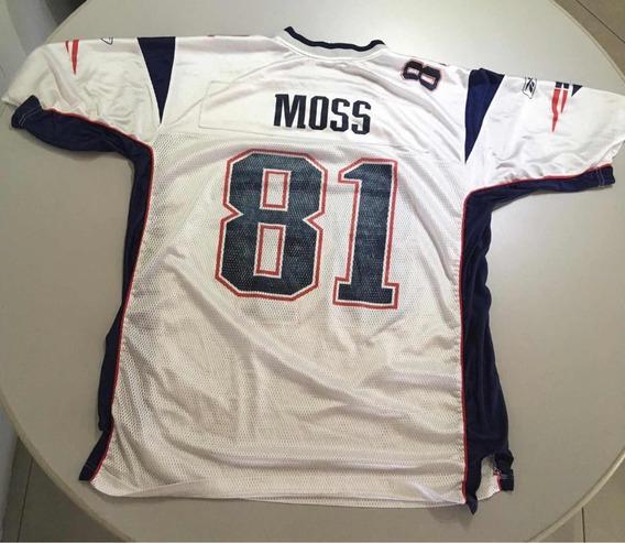 timeless design 2937c 3b05d Jersey Patriotas New England Patriots Moss Xl Adulto Nfl Hm4 ...