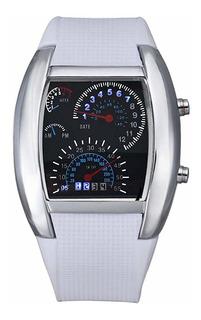 Fanmis Digital Fashion Cobra Reloj Led Para Hombre