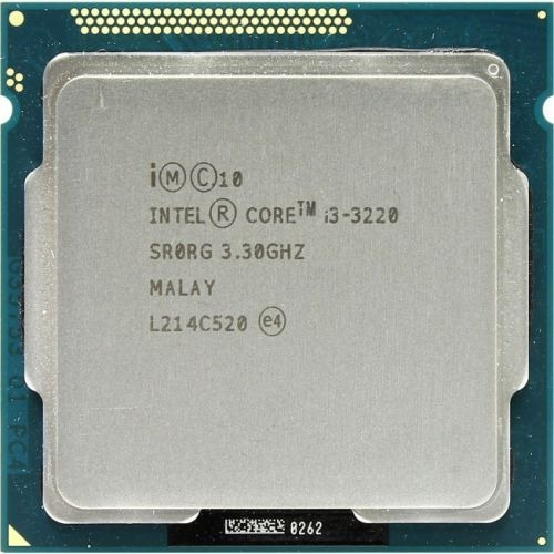 Processador Intel I3-3220 3.3ghz 3mb Lga-1155 + Cooler