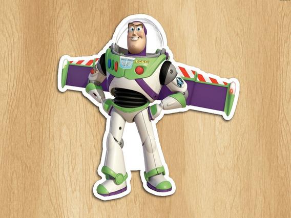 100 Adesivo Toper Recorte Tubete Lembrancinha Toy Story 15cm