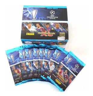 10 Caixas 24 Envelopes Cards Champions League 14/15 Panini