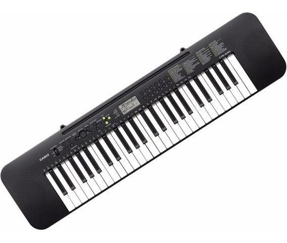 Teclado Musical P/ Estudante Casio Ctk240 100 Tipos De Sons