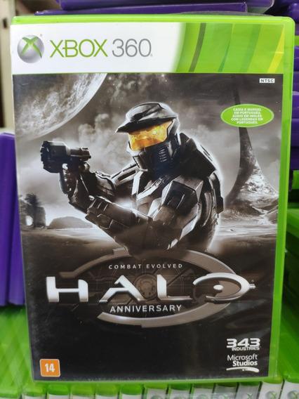 Jogo Halo Anniversary Xbox 369, Mídia Física, Usado