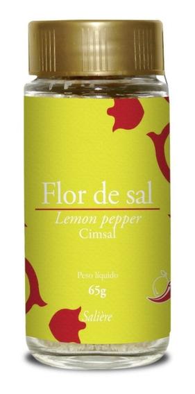 Flor De Sal Cimsal Lemon Pepper 65g Gourmet