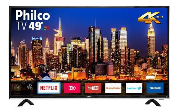 Smart Tv 49 4k Philco Bivolt Ptv49f68dswn
